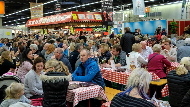 Trotz der Corona-Pandemie hatten die Veranstalter der Consumenta mit Tausenden Besuchern gerechnet.