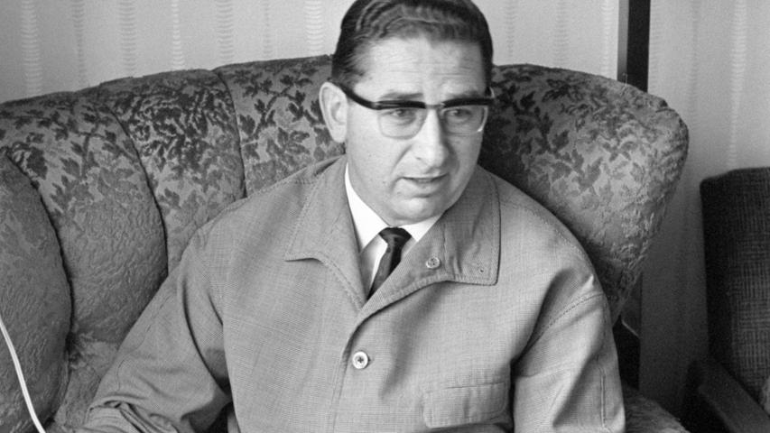 Auf Papier und Tonband: das Interview, das Arno Hamburger auf dem Sportplatz gegeben hat.  Hier geht es zum Kalenderblatt vom 22. Oktober 1967: Lanze für Landsleute
