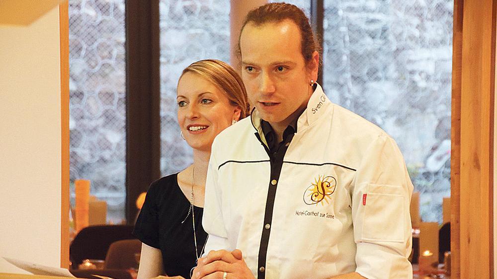 Zwei, die sich was trauen: Sven und Steffi Glück haben 2008 die Sonne in Pappenheim übernommen und beweisen seitdem, dass sich hochwertige, regionale Küche auch in Altmühlfranken durchsetzen kann. Nun weihten sie einen mutigen Neubau ein, der ein zweites Restaurant, Konferenz- und Tagungsräume und neue Zimmer beherbergt.