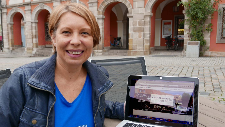 Uta Unkel will mit ihrem Projekt den fränkischen Dialekt stärken.