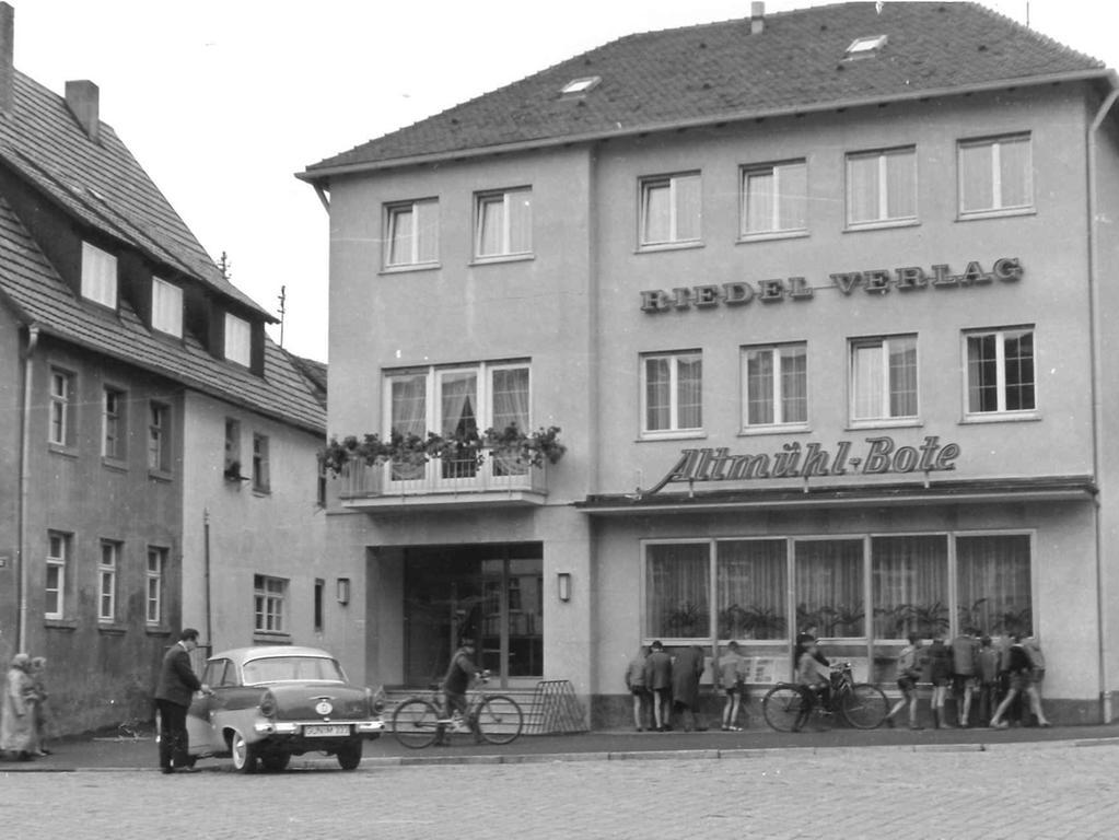 FOTO: 8.11.2017; Stadtarchiv Gunzenhausen MOTIV: Zeitung in Gunzenhausen; für Serie