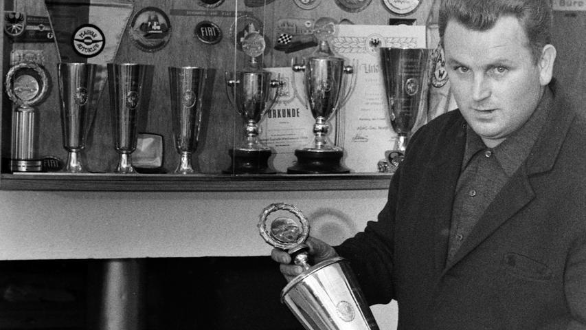 Der Rallyesport spielte vor 50 Jahren im Altlandkreis Pegnitz eine große Rolle. Einer der Erfolgsgaranten war Richard Leinberger aus Weidensees. Der Gründer des ADAC-Ortsclubs begann 1962 mit dem Motorsport und brachte als Kfz-Meister in seiner eigenen Werkstatt beste Voraussetzungen dafür mit. 1966 war ein richtiges Goldjahr für ihn, räumte er doch damals alle Gaumeister-Titel ab. Zusammen mit den Brüdern Christoph und Ricklef Groß aus Pegnitz nahm er bald auch an überörtlich bedeutsamen Rallyes teil, mitunter über Distanzen von bis zu 1200 Kilometern. Später gründete Leinberger einen Rennstall, der unter anderem auch beim Nürnberger Norisring-Rennen an den Start ging.