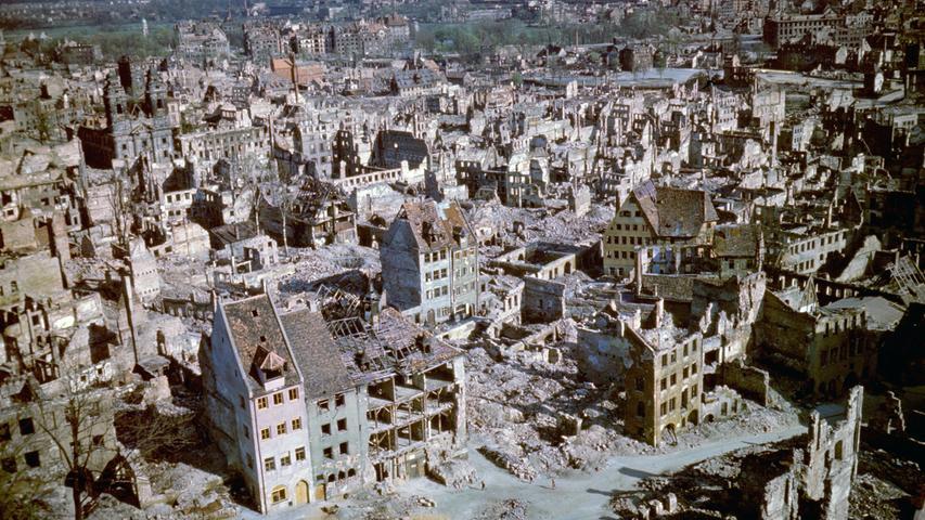 Gewaltige Bauten, alter Charme: So sah Nürnberg einst aus