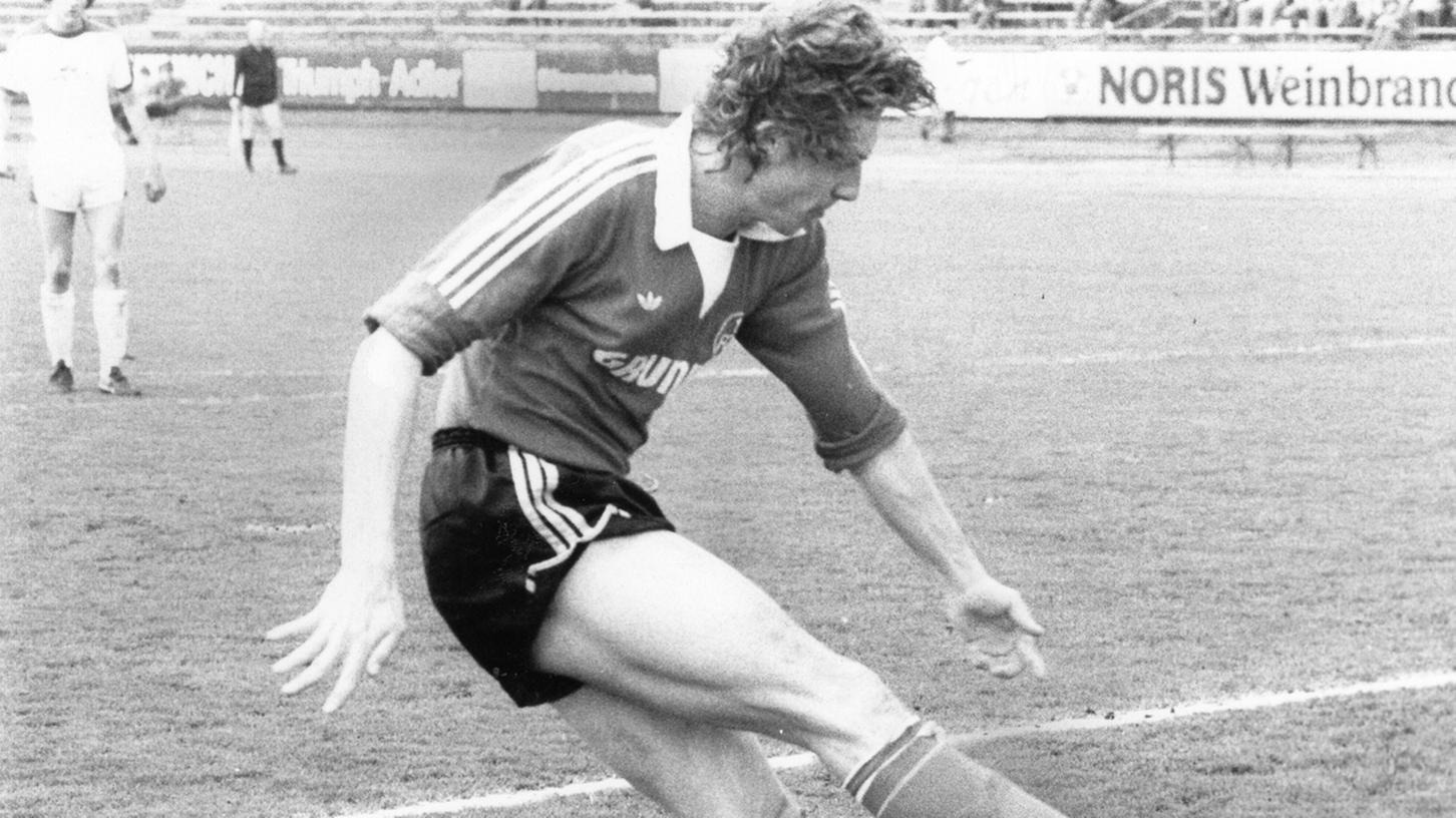 Ein Kiel-Schreck im Club-Trikot: Detlev Szymanek gab 1979 in Nürnberg den Norddeutschen gleich dreimal das Nachsehen.