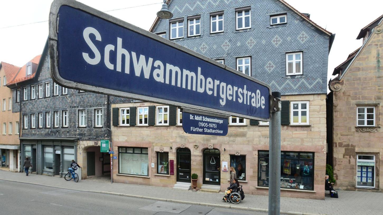 Die Schwammbergerstraße verbindet Mohren- und Königstraße.
