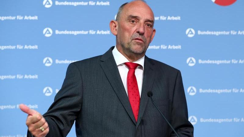 Vorstandsvorsitzender der Nürnberger Bundesagentur für Arbeit: Detlef Scheele.
