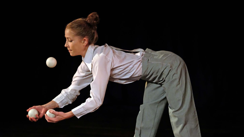 Bei der Gala-Show der Jonglier-Convention präsentierten die Artisten ihr Können.