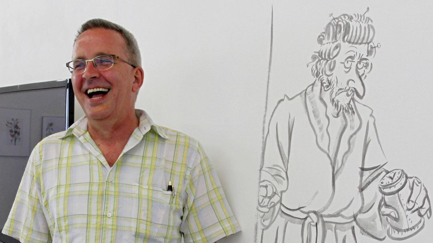 Gerd Bauer: Auch in seinen bissigsten Cartoons schwang Versöhnlichkeit mit.