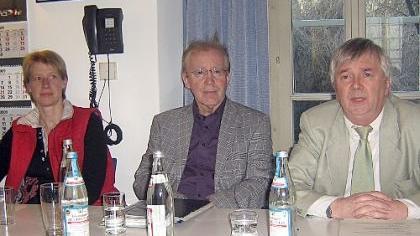 Eva Gebauer, Jürgen Rudolph und Alfred Weber (v. li.) stellten den neuen Leitfaden vor.
