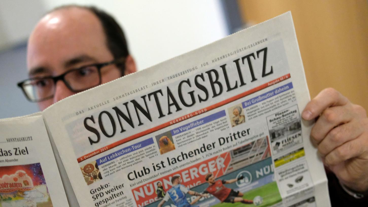 Seit mehr als 20 Jahren eine beliebte Wochenend-Lektüre: Der SONNTAGSBLITZ wird zum neuen Jahr mit einem neuen Konzept ins Haus kommen.
