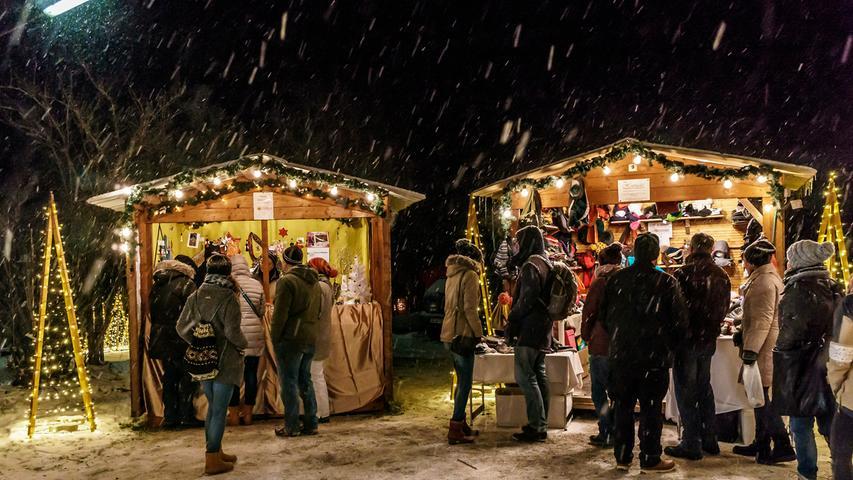 Lichterglanz in Auerbach: Weihnacht auf Maffei