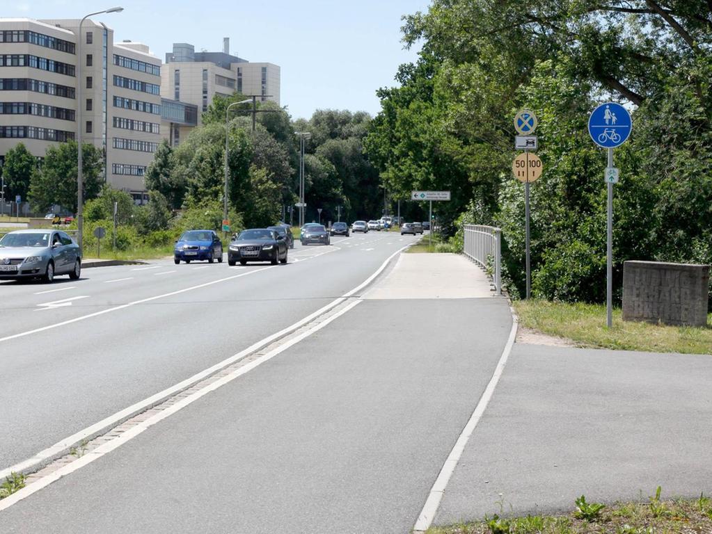 Gemeinsam zur endgültigen Planung: Auch mögliche Streckenvarianten der StUB, wie hier in der Hans-Maier-Straße, sollen im Dialog mit den Bürgern besprochen werden.