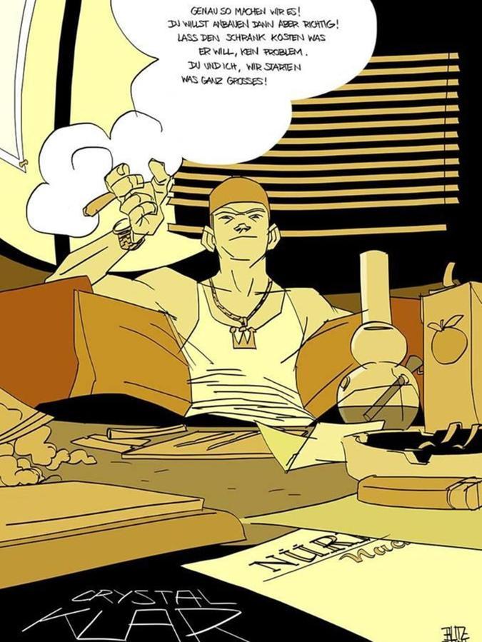 Seine Lebensgeschichte will Dominik Forster nun auch als Graphic Novel herausbringen. Das Crowdfunding-Projekt läuft bereits.