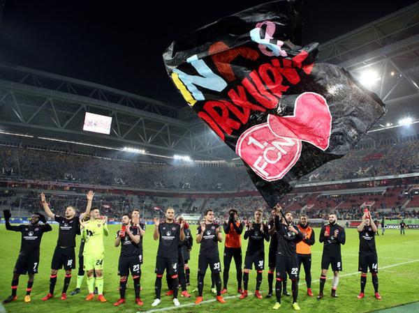Auch die Clubspieler beteiligten sich an der Aktion.