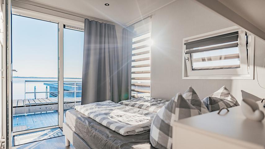 Schöner Ausblick, schöne Ausstattung: Die Floating Houses sollen vor allem solvente Urlauber anziehen.