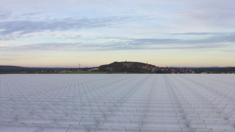 Sieben Fußballfelder groß ist das neue Gewächshaus bei Abenberg.