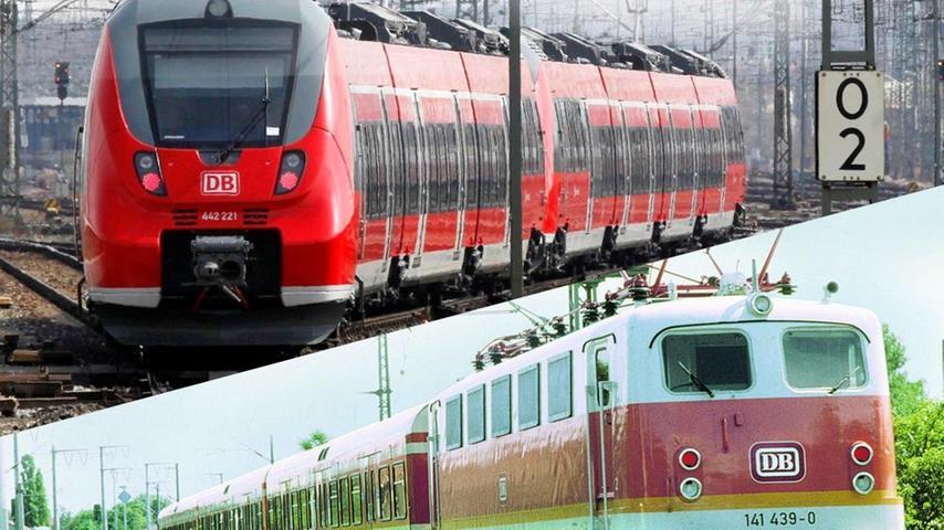 Bitte einsteigen zur Zeitreise mit der Schnellbahn! 1987 nahm das S-Bahnnetz Nürnberg den Betrieb auf.