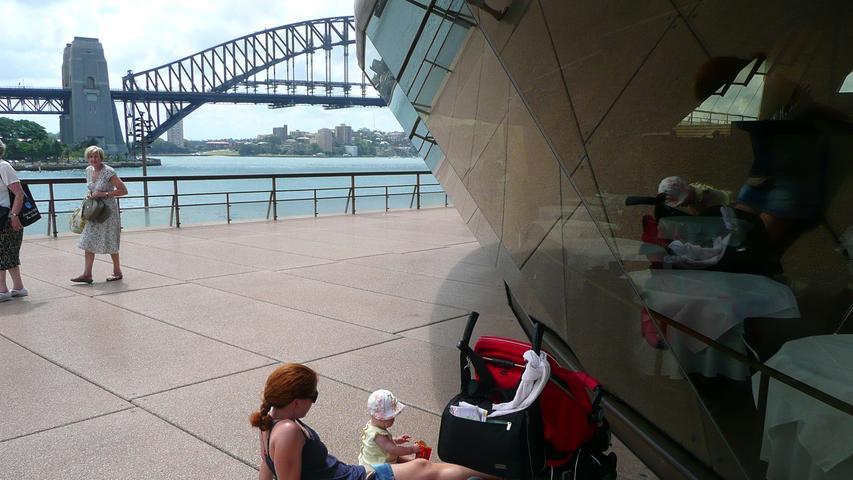 An der Oper in Sydney.