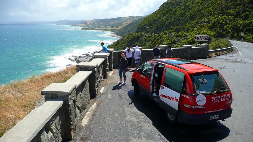 Stopp an der Great Ocean Road.