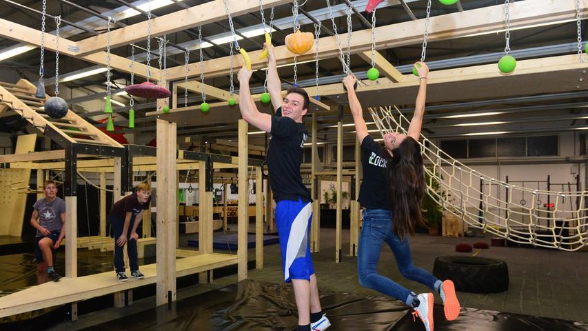 Halle in Erlangen: Hier trainieren Ninja Warriors