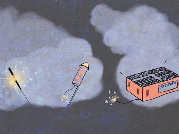 Still Feuerwerk Ach so