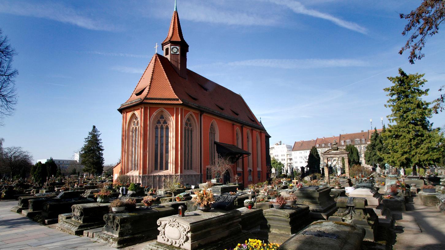 Die Epitaphienkultur auf den Friedhöfen St. Johannis (im Bild) und St. Rochus stehen jetzt auf der Landesliste des immateriellen Kulturerbes.