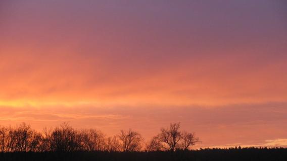 Spektakel am Himmel: Der erste leuchtende Sonnenaufgang 2018