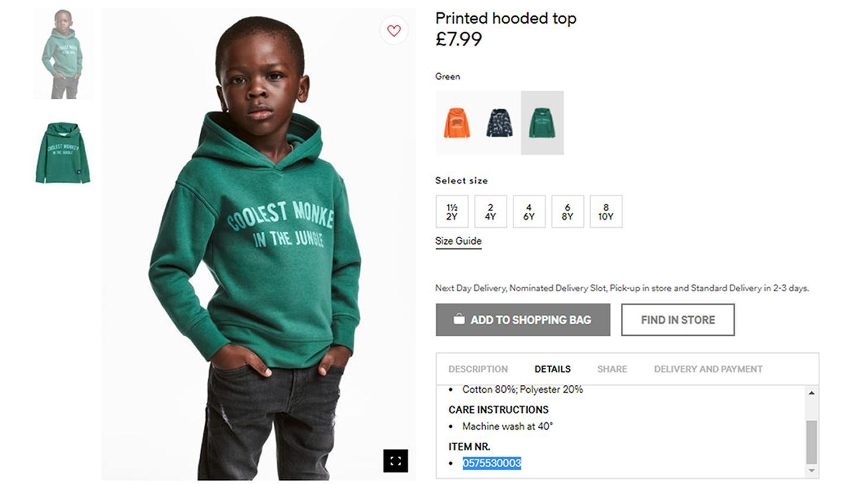 Es war der Auslöser für einen internationalen Shitstorm: Das Unternehmen H&M steht nach einem Werbefoto mächtig im Kreuzfeuer der Kritik.