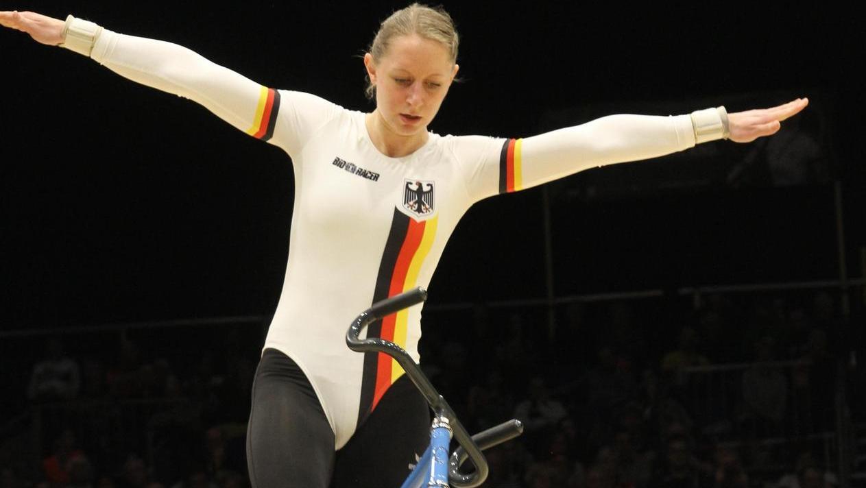 Im DM-Trikot holte sich Milena Slupina 2017 in Österreich auch den WM-Titel. Logischer Lohn: Sportlerin des Jahres im Landkreis Roth.