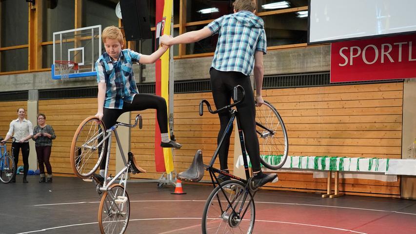 Ehrung Sportler des Jahres Landkreis Roth; Halle Anton-Seitz-Schule Roth; Foto: Salvatore Giurdanella; 12.1.2018.