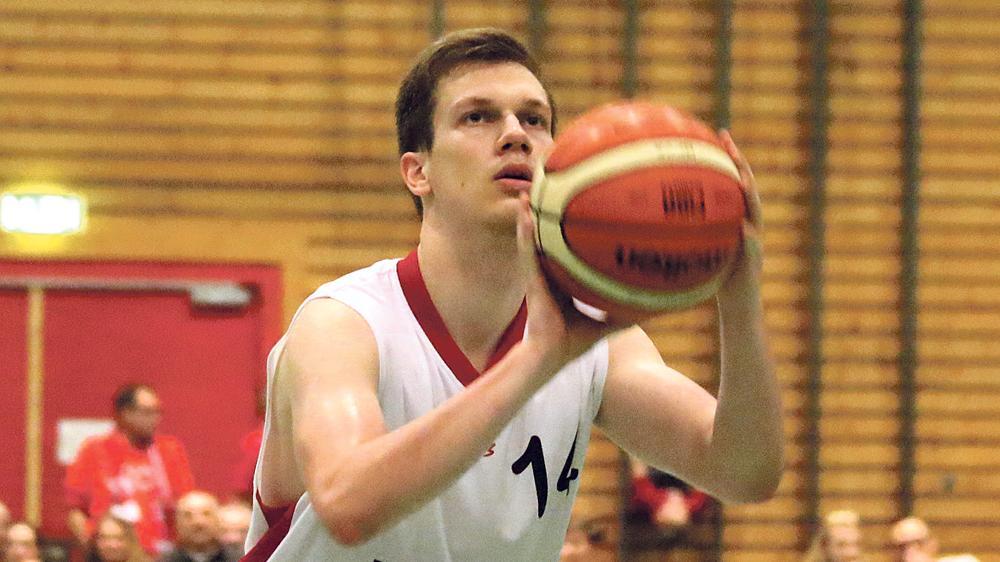 Steuerte 14 Punkte für den VfL bei: Florian Beierlein.