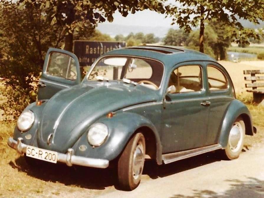 schwabach.friedrich seyferth.autos.VW Käfer