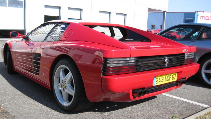 Testarossa - Ferrari hätte seinen Supersportwagen der 1980er-Jahre genau so gut auch