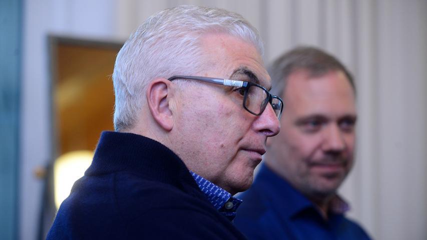 Amys Vater in Fürth: Sänger Mitch Winehouse probt mit Thilo Wolf