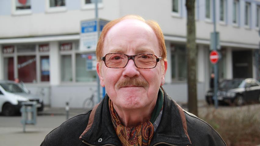 Günther Franke am Willy-Brandt-Platz: