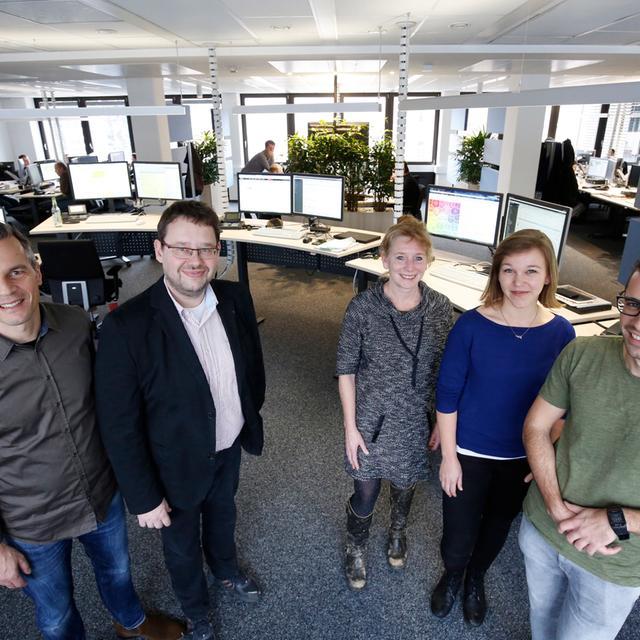 Im Newsroom arbeiten die Kolleginnen und Kollegen der Nürnberger Nachrichten, Nürnberger Zeitung und von nordbayern.de Hand in Hand.
