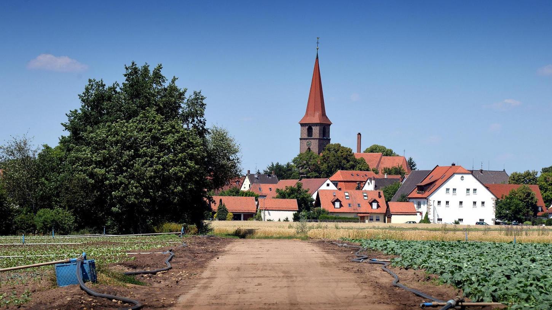 """""""VorOrt"""" heißt eine neue Reihe von Rundgängen, die der Geschichtsverein heuer in sein Programm aufgenommen hat. Sie beleuchtet Vororte wie Burgfarrnbach, Stadeln oder, wie im Bild zu sehen, Poppenreuth."""
