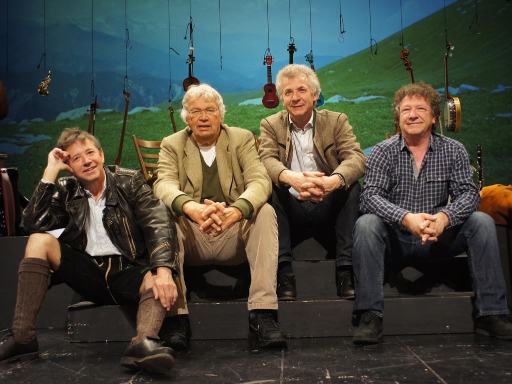 Gerhard Polt und die Well Brüder sind am 28. Februar im Fürther Stadttheater zugange.