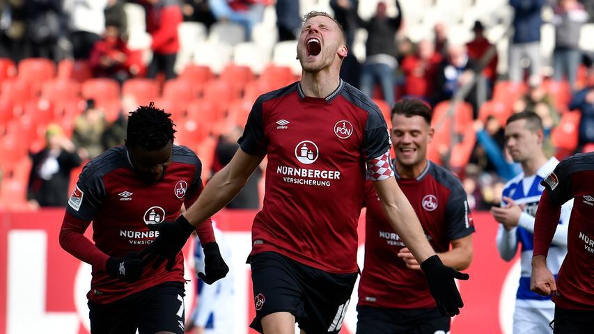 FCN feiert Duisburg-Sieg: Die Kurve tobt, der Club ist spitze!