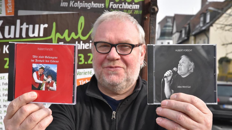 Viel Lebenserfahrung gemischt mit Humor und sprachlichem Feingefühl: Forchheims Kulturpreisträger Hubert Forscht war wieder mal aktiv.