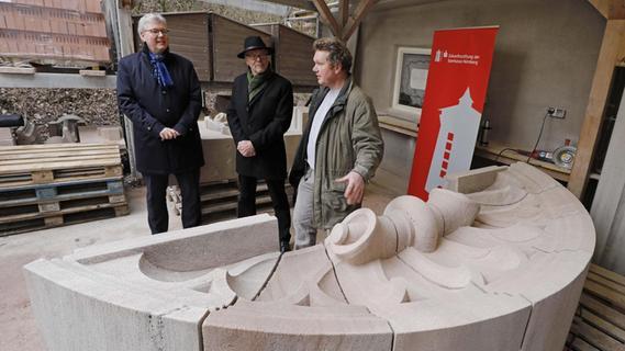Wiederaufbau des Pellerhofs: Der größte Brocken ist geschafft
