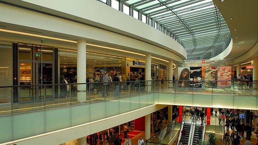 Die Türen des Einkaufszentrums öffneten sich im September 2007.