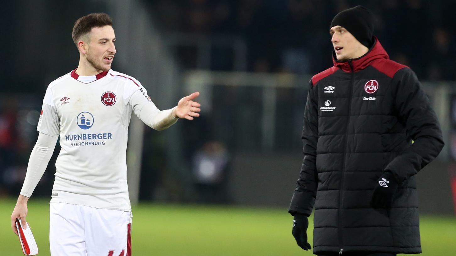 Der gegen Duisburg pausierende Kevin Möhwald (li.) steht dem Club in Bochum wieder zur Verfügung.