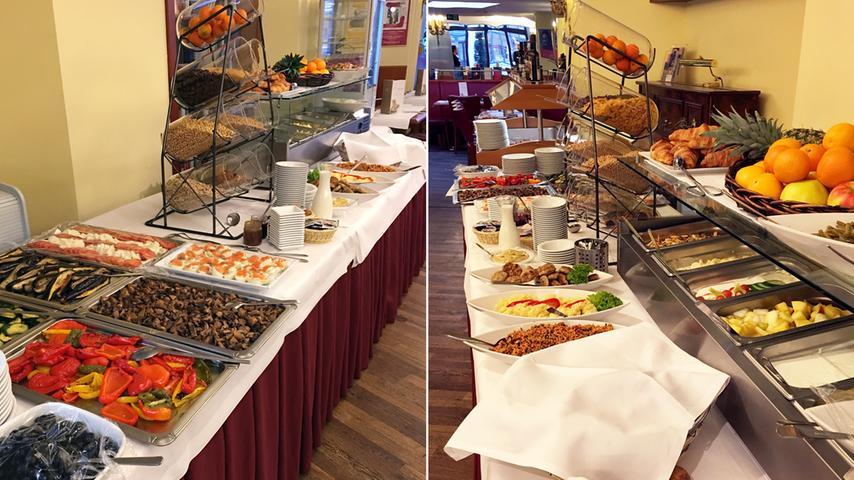Ein buntes und saisonal angepasstes Brunchbuffet bietet an Sonn- und Feiertagen (von 10 bis 14 Uhr) das Literaturhaus an. Der Preis: 15 Euro für Erwachsene, 7,50 Euro für Kinder von sechs bis 12 Jahren. Neben Fisch-, Fleisch- und vegetarischen Gerichten und auch immer einer Suppe werden Croissants, unterschiedliche Brot- und Brötchensorten mit Käse- und Wurstspezialitäten aufgetischt. Wer es lieber süß mag: Es gibt auch Fruchtaufstriche und Desserts. Zudem können die Gäste zwischen verschiedenen Salaten und Antipasti wählen und sich die Frühstückseier je nach Wunsch zubereiten lassen. Auch glutenfreie Brötchen werden auf Anfrage und gegen Aufpreis angeboten.  Mit 102 Stimmen im Voting belegt das Literaturhaus Platz 7.