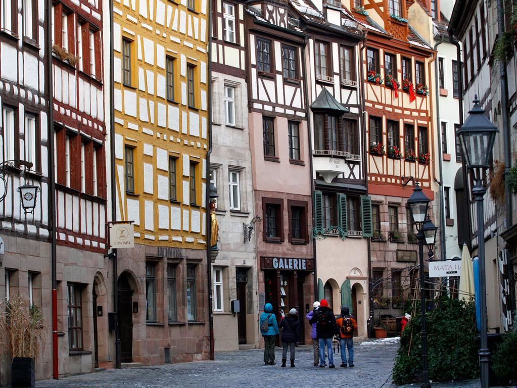Die Weißgerbergasse in Nürnberg zählt zu den beliebtesten Touristen-Attraktionen.