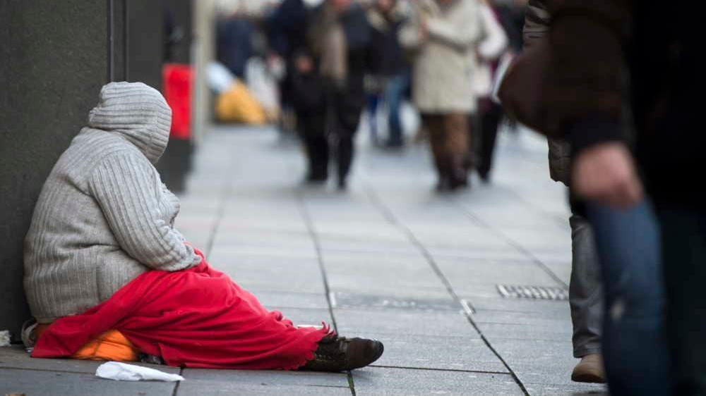 Trotz eisiger Temperaturen harren viele Obdachlose im Freien aus.