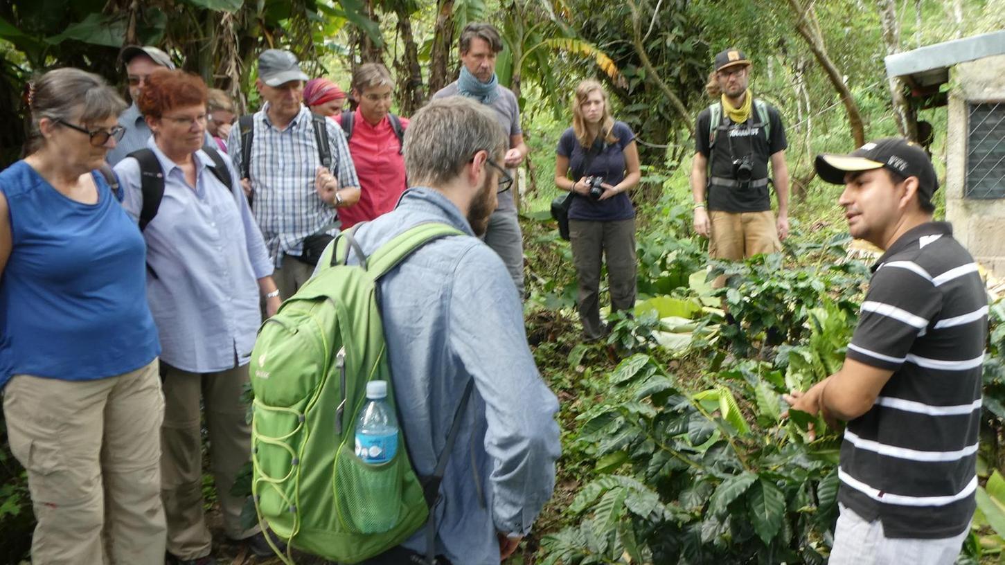 Zu Nicaraguas Kaffee-Bauern führte eine dreiwöchige Reise im vergangenen Herbst, dabei waren auch zwei Fürther.