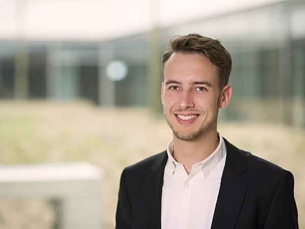 Betreut vom Fraunhofer-Team das Projekt Hochfranken: Maximilian Perez Mengual.