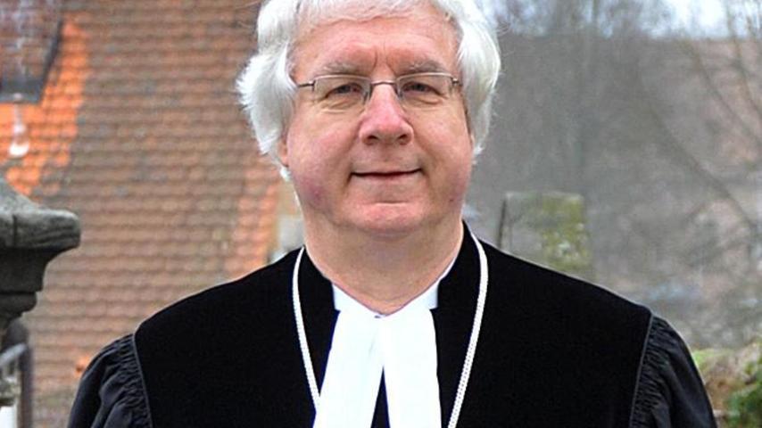 Ist seit zehn Jahren Dekan des Bezirks Erlangen: Peter Huschke.