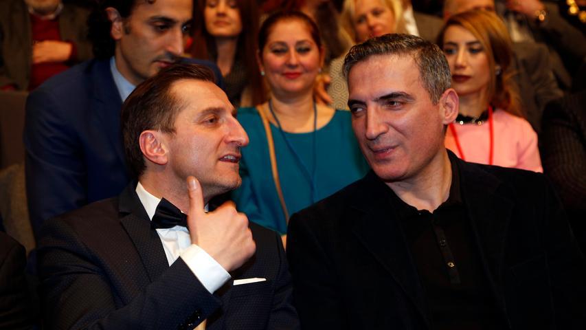 RESSORT: Lokales / Feuilleton..DATUM: 09.03.18..FOTO: Michael Matejka ..MOTIV: Eröffnung 23. Filmfestival Türkei Deutschland in der Tafelhalle..ANZAHL: 1 von 14..